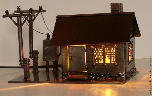 Освещение ручной работы. Ярмарка Мастеров - ручная работа. Купить Свет в каждый дом!. Handmade. Дом, ЛЭП, ночник