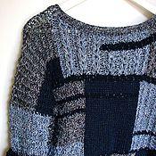 """Одежда ручной работы. Ярмарка Мастеров - ручная работа Джемпер """"Индиго"""". Handmade."""