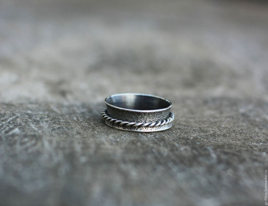 """Кольца ручной работы. Ярмарка Мастеров - ручная работа. Купить кольцо """"Движение пятое"""", серебро. Handmade. Серебряный, кольцо из серебра"""