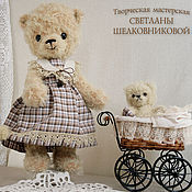 Куклы и игрушки handmade. Livemaster - original item Teddy bears from the