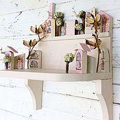 Для дома и интерьера ручной работы. Ярмарка Мастеров - ручная работа Полочка ручной работы. Handmade.