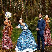 Свадебное платье в стиле А-ля Русс, Невеста в Русском стиле
