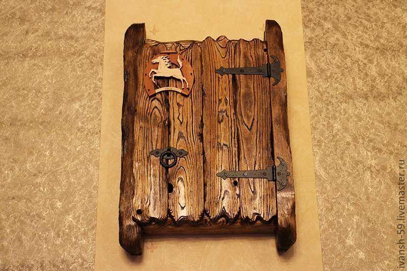 Своими руками ключница из дерева