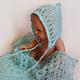Пледы и одеяла ручной работы. Мятный сет для фотосессии новорожденных. Наташа Харина. Интернет-магазин Ярмарка Мастеров. Для фотосессий малышей