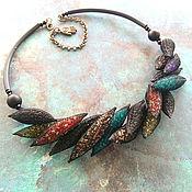 Украшения handmade. Livemaster - original item Necklace Under the veil. Handmade.