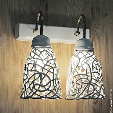 Для дома и интерьера ручной работы. Ярмарка Мастеров - ручная работа Классика Ренессанса - настенный светильник. Handmade.
