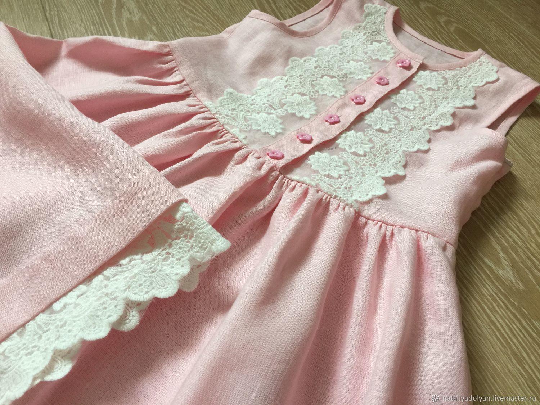 Linen sundress ' Pink dawn', Dresses, Ivanovo,  Фото №1
