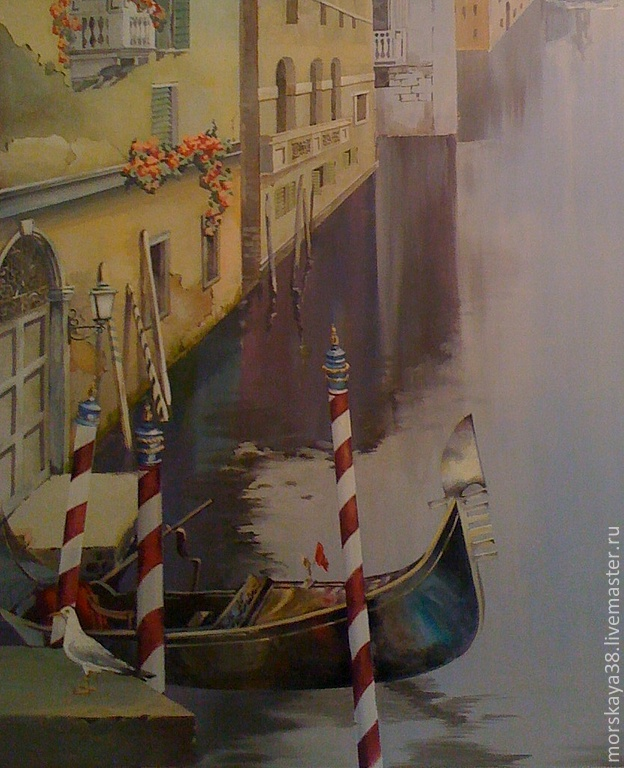 Wall painting 'Venice' Painting wall custom, Pictures, Moscow,  Фото №1