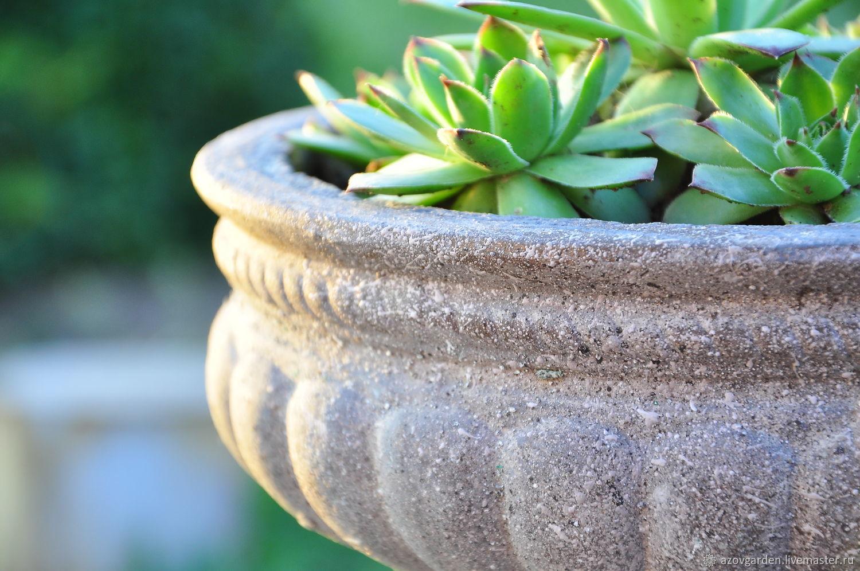 Уличная ваза бетон бетон в нижневартовске с доставкой купить