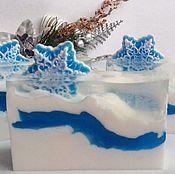 Косметика ручной работы. Ярмарка Мастеров - ручная работа Новогоднее мыло для мужчин. Handmade.
