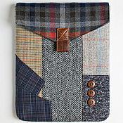 Сумка-планшет ручной работы. Ярмарка Мастеров - ручная работа Сумка-чехол для планшета Apple iPad текстильный. Handmade.