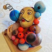 Куклы и игрушки ручной работы. Ярмарка Мастеров - ручная работа Молекула Сальвадора. Handmade.