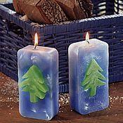 Сувениры и подарки ручной работы. Ярмарка Мастеров - ручная работа свеча - Новогодняя ёлка. Handmade.