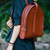 Backpacks handmade. Livemaster - original item Yokohama women`s leather backpack. Handmade.