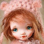 Куклы и игрушки handmade. Livemaster - original item Dolls Dzhessika18sm. Handmade.