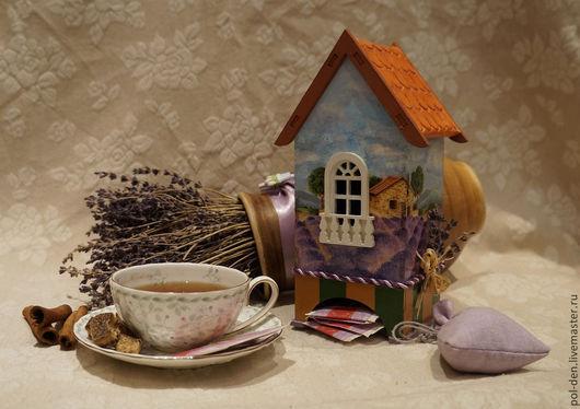 """Кухня ручной работы. Ярмарка Мастеров - ручная работа. Купить Чайный домик """"Прованс"""". Handmade. Сиреневый, прованс стиль, подарок"""