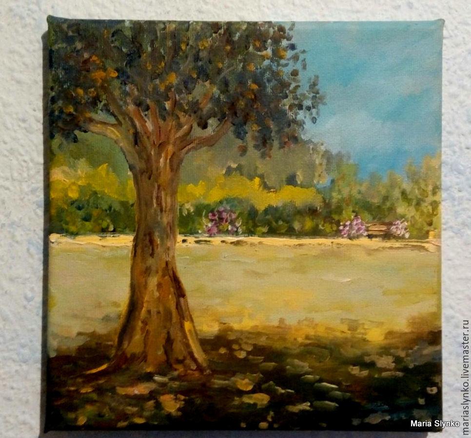 Landscape. In the Park.Spain