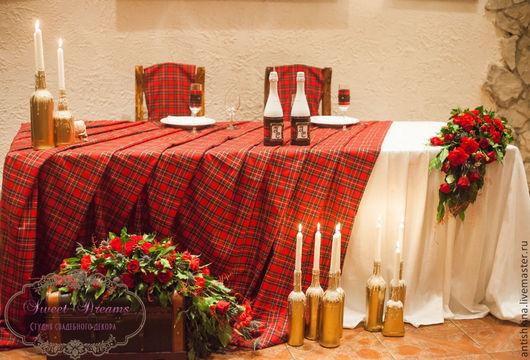 Свадебные аксессуары ручной работы. Ярмарка Мастеров - ручная работа. Купить Рок-свадьба в замке. Handmade. Ярко-красный