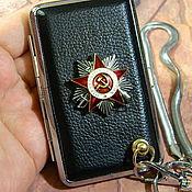 Сувениры и подарки handmade. Livemaster - original item CIGARETTE CASE FOR 12 REGULAR AND 20 THIN CIGARETTES. Handmade.