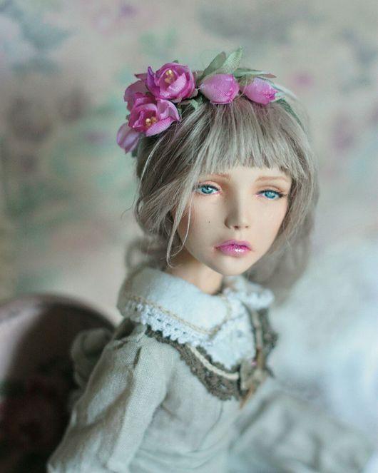 """Коллекционные куклы ручной работы. Ярмарка Мастеров - ручная работа. Купить Авторская шарнирная кукла """"Ивон"""" (продана ). Handmade."""