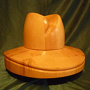 Материалы для творчества handmade. Livemaster - original item BLANK HAT WITH A CURVED FIELD 4. Handmade.