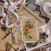 Для дома и интерьера ручной работы. Ярмарка Мастеров - ручная работа Ключница «Letters from the past». Handmade.