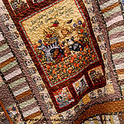 """Для дома и интерьера ручной работы. Ярмарка Мастеров - ручная работа Лоскутное покрывало """"Любимое"""""""". Handmade."""