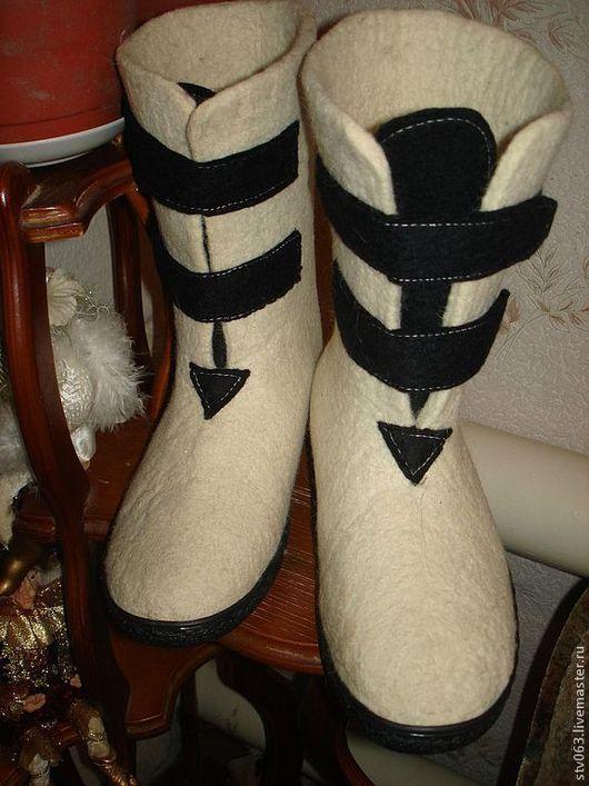 Обувь ручной работы. Ярмарка Мастеров - ручная работа. Купить Валенки мужские. Handmade. Мужская обувь, валенки ручной валки