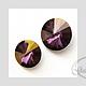 Для украшений ручной работы. Ярмарка Мастеров - ручная работа. Купить Риволи SWAROVSKI код 1122 (12,14 мм)  lilac shadow. Handmade.