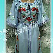 Одежда handmade. Livemaster - original item Tunic-embroidery