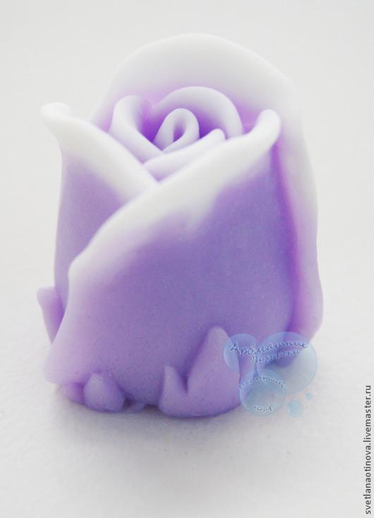 Мыло ручной работы. Ярмарка Мастеров - ручная работа. Купить Бутон розы. Handmade. Роза, букет роз, подарок девушке