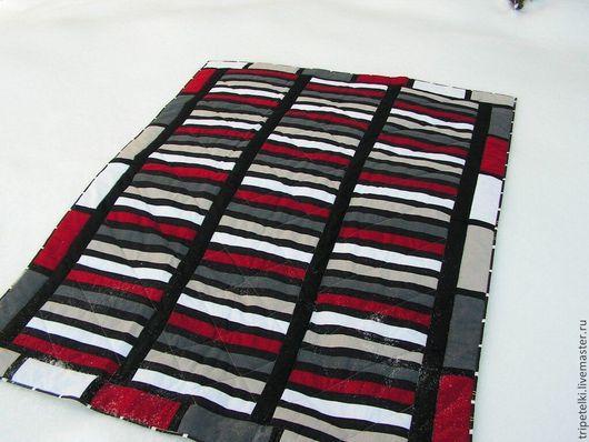 """Текстиль, ковры ручной работы. Ярмарка Мастеров - ручная работа. Купить Лоскутное одеяло """"Драйв"""". Handmade. Разноцветный, лоскутное одеяло"""