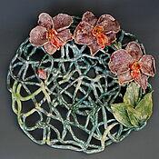 Для дома и интерьера handmade. Livemaster - original item Vases: Orchids. Handmade.