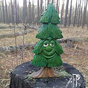 handmade. Livemaster - original item Christmas tree toy carved