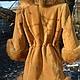 Верхняя одежда ручной работы. Заказать Копия работы Куртка-френч зимняя из меха лисы с нежнейшей замшей. Ирина (dneproart). Ярмарка Мастеров.