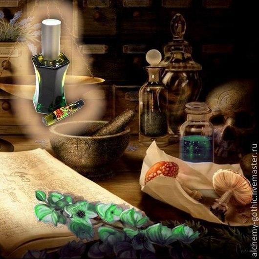 """Натуральные духи ручной работы. Ярмарка Мастеров - ручная работа. Купить """" Pozione 666 """" натуральные духи. Handmade."""