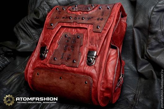 """Рюкзаки ручной работы. Ярмарка Мастеров - ручная работа. Купить Рюкзак кожаный женский """"Батори"""". Handmade. Рюкзак, рюкзак кожаный"""