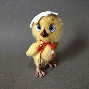Куклы и игрушки handmade. Livemaster - original item Easter chick. Handmade.