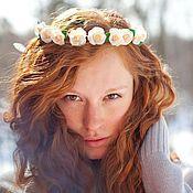 Украшения handmade. Livemaster - original item A wreath on the head of