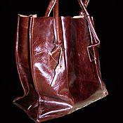 Classic Bag handmade. Livemaster - original item Bag ladies genuine leather.. Handmade.