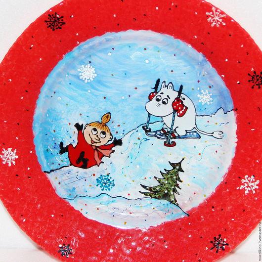 Тарелка Зима в Муми-доле