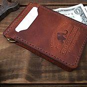 Wallets handmade. Livemaster - original item Wallets: Money clip. Handmade.