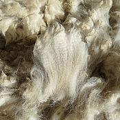 Материалы для творчества handmade. Livemaster - original item Alpaca Waka white. Handmade.