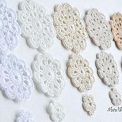 Материалы для творчества handmade. Livemaster - original item A set of knitted items, cotton. Handmade.