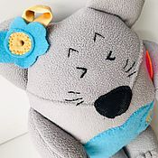 Мягкие игрушки ручной работы. Ярмарка Мастеров - ручная работа Мягкие игрушки: Озорная мышка. Handmade.