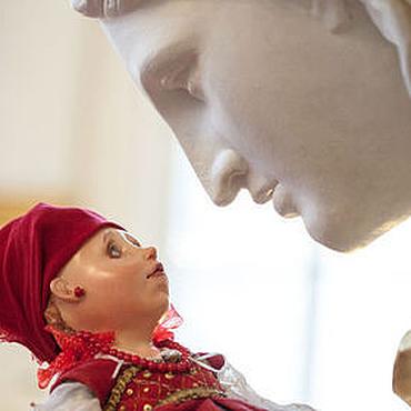 """Куклы и игрушки ручной работы. Ярмарка Мастеров - ручная работа Фарфоровая коллекционная кукла """"Забава """". Handmade."""