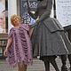 """Платья ручной работы. Платье """"Пыльная Роза"""". You ли Я (yulka-1702). Ярмарка Мастеров. Вязаное платье, спицы"""