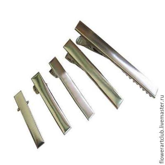 Другие виды рукоделия ручной работы. Ярмарка Мастеров - ручная работа. Купить Основа для заколки крокодильчик - 4 см; 4,5 см; 5,5 см; 6,5; 7,8 см. Handmade.