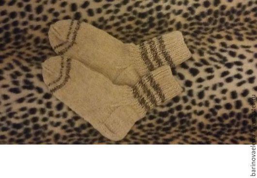Носки, Чулки ручной работы. Ярмарка Мастеров - ручная работа. Купить носки белые с кантом. Handmade. Лимонный, носки