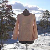 """Одежда ручной работы. Ярмарка Мастеров - ручная работа """"Утро"""" ажурная блуза из кашемира. Handmade."""